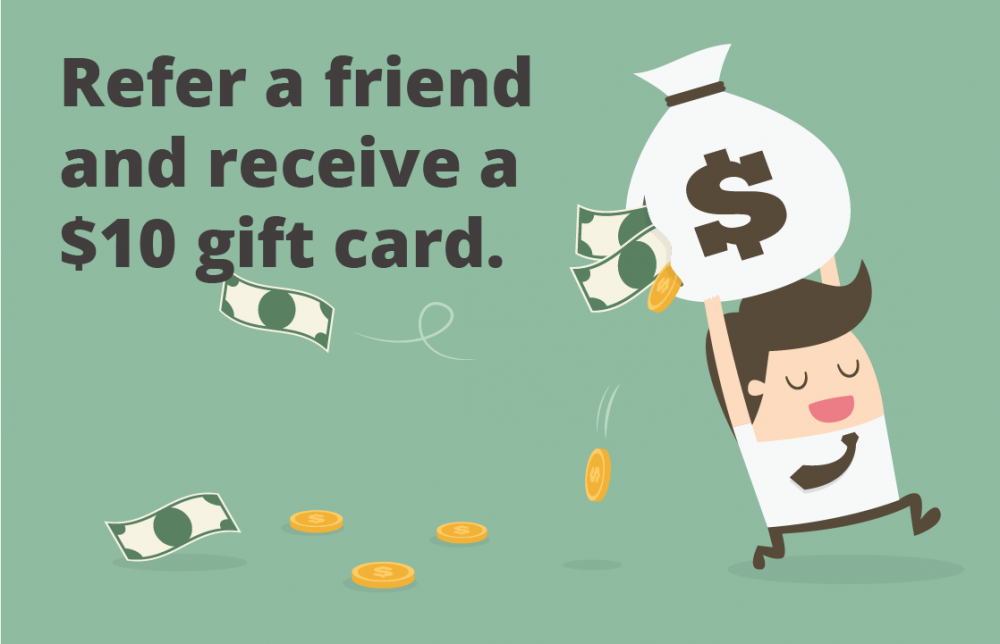 Refer a friend vector